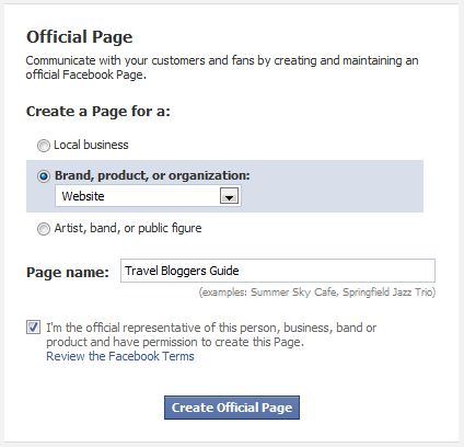 reddit how to create a facebook page